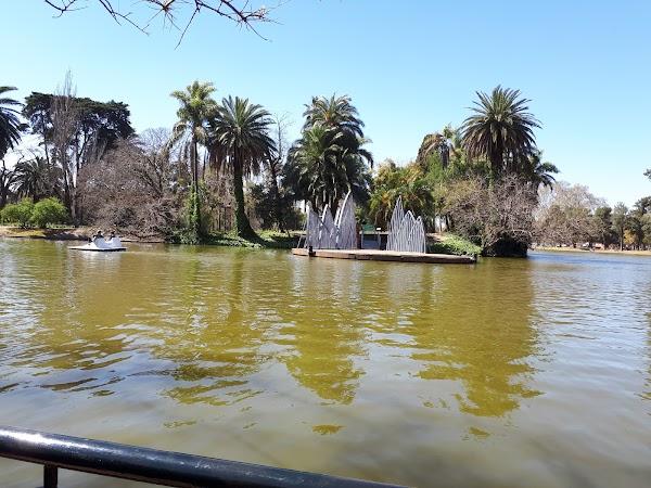 Popular tourist site Bosques De Palermo in Buenos Aires