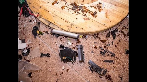 Popular tourist site Wreck Room in Las Vegas