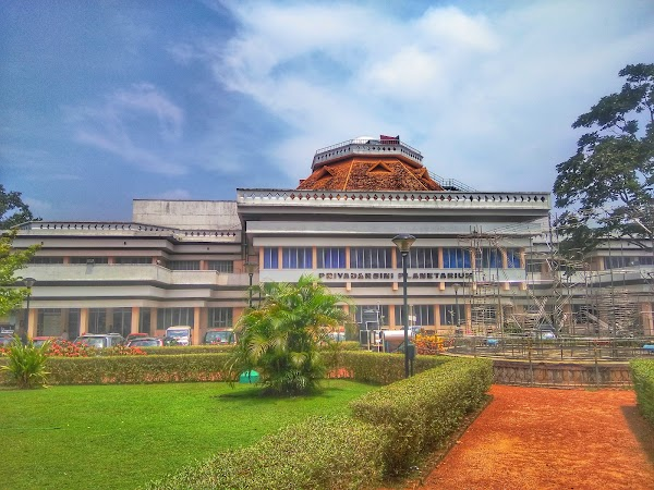 Popular tourist site Kerala State Science & Technology Museum in Trivandrum