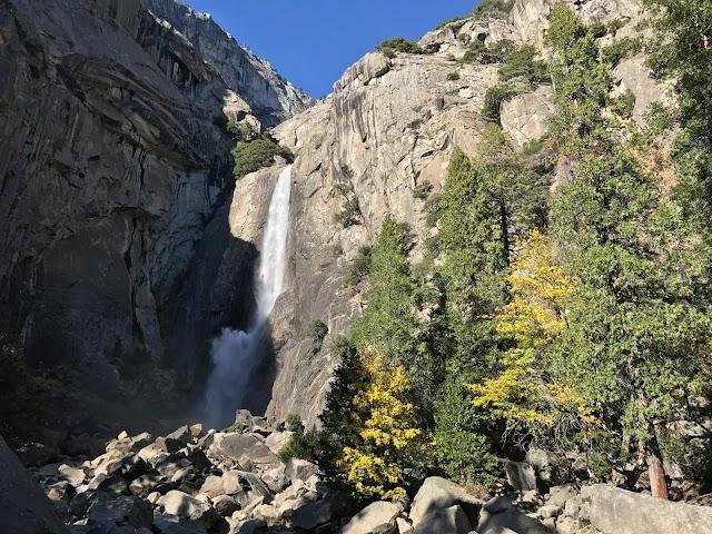 List item Lower Yosemite Falls image