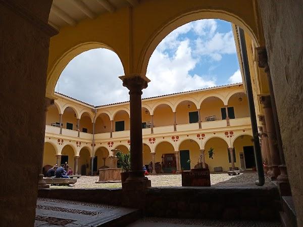 Popular tourist site Museo Inka in Cusco