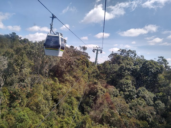Popular tourist site Arví Park Medellin Colombia in Medellin