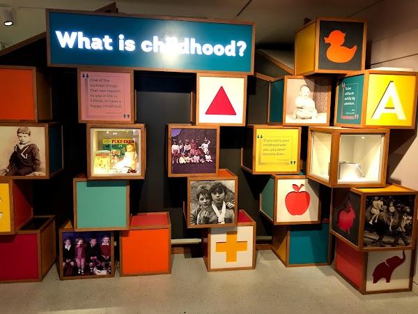 Popular tourist site Museum of Childhood in Edinburgh