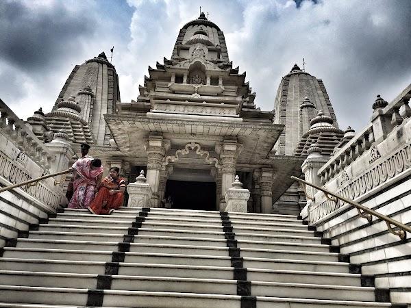 Popular tourist site Birla Mandir in Kolkata