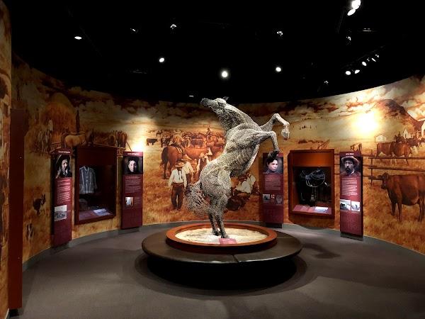 Popular tourist site Glenbow Museum in Calgary