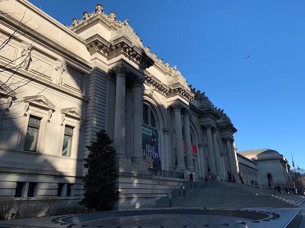 Popular tourist site The Metropolitan Museum of Art in New York