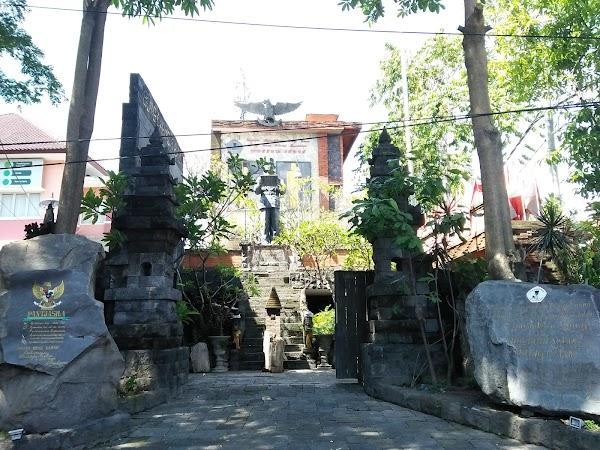 Popular tourist site Museum Bung Karno in Denpasar City