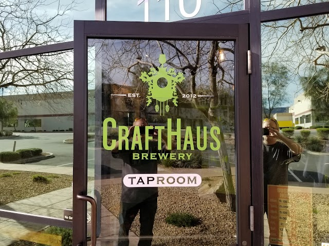 CraftHaus Brewery banner backdrop