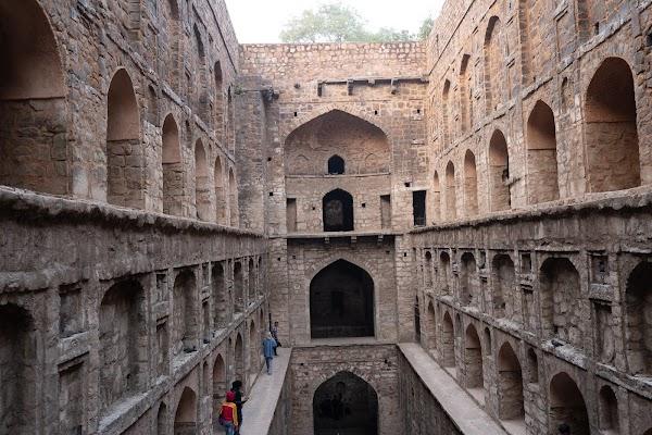 Popular tourist site Agrasen ki baoli in New Delhi