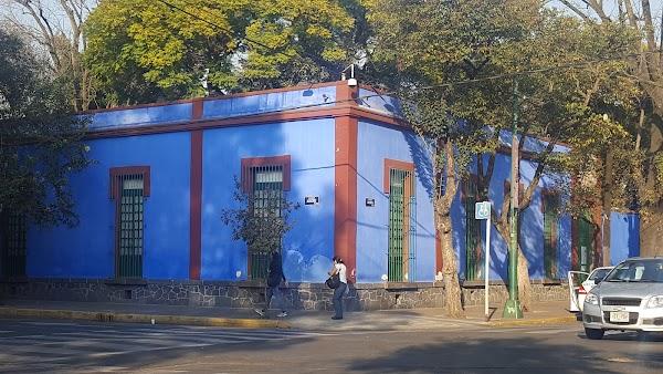 Popular tourist site Frida Kahlo Museum in Mexico City
