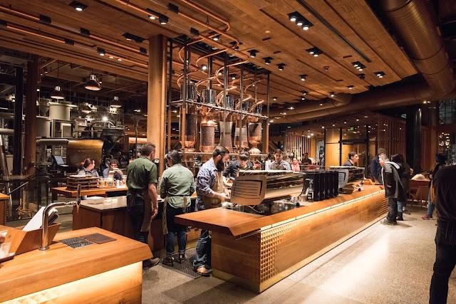 Starbucks Reserve Roastery banner backdrop