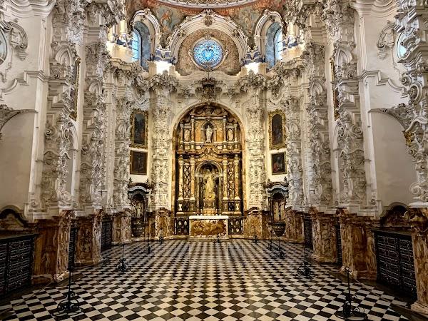 Popular tourist site Monasterio de Nuestra Señora de la Asunc in Granada