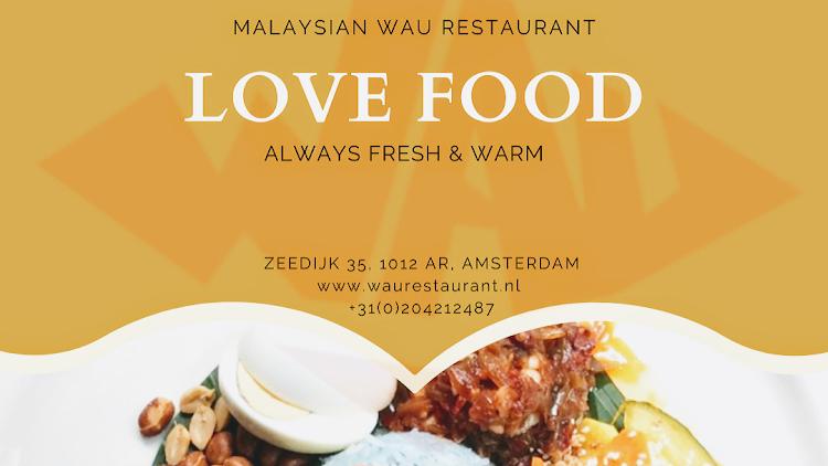 Malaysian restaurant Wau Amsterdam