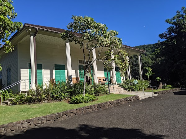 Popular tourist site Queen Emma Summer Palace in Honolulu