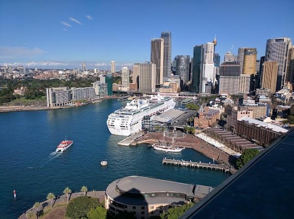 Popular tourist site BridgeClimb Sydney in Sydney