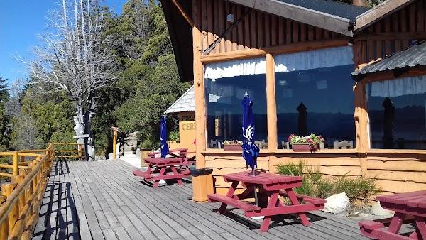 Popular tourist site Cerro Viejo in Bariloche