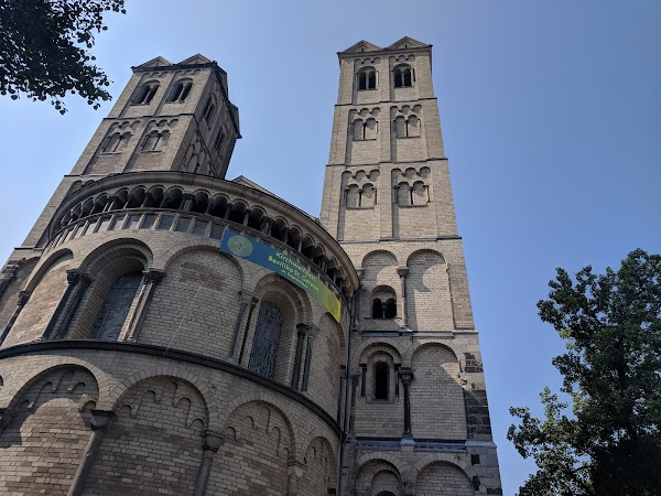 Popular tourist site St. Gereon in Cologne