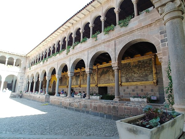 Popular tourist site Iglesia De Santo Domingo in Cusco