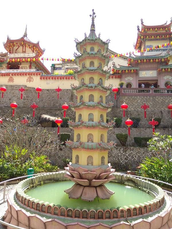 Popular tourist site Kek Lok Si Temple in Penang