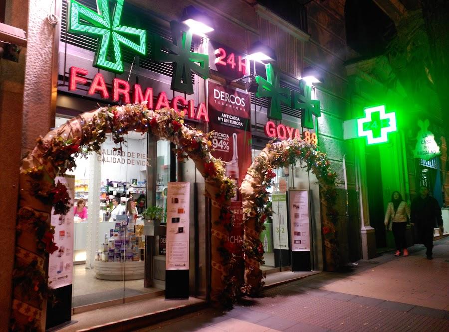 Foto farmacia Farmacia Goya 89 Abierto hasta las 23h
