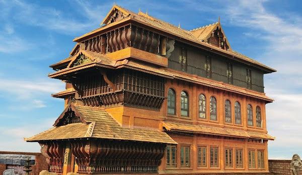 Popular tourist site Kerala Folklore Museum in Cochin