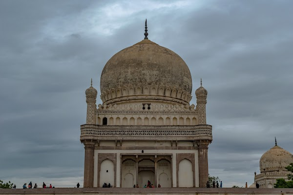 Popular tourist site Qutb Shahi Tombs in Hyderabad