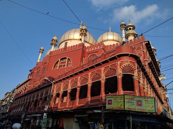 Popular tourist site Nakhoda Masjid in Kolkata