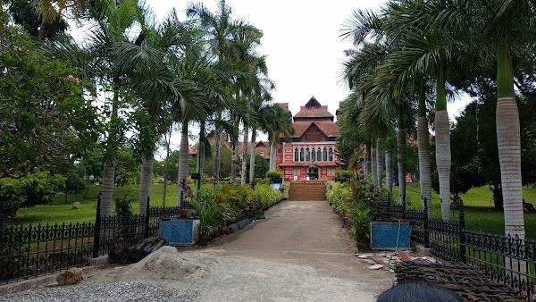 Popular tourist site Napier Museum in Trivandrum