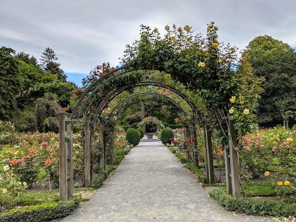 Popular tourist site Christchurch Botanic Gardens in Christchurch