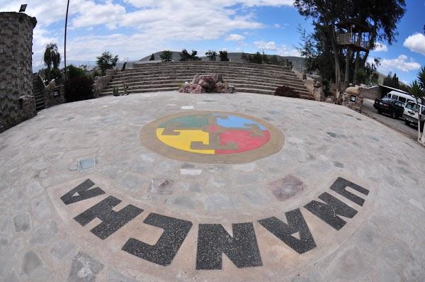 Popular tourist site Intiñan Solar Museum in Quito