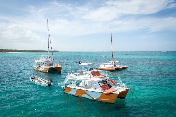 Popular tourist site Happy Fish Catamarans in Punta Cana