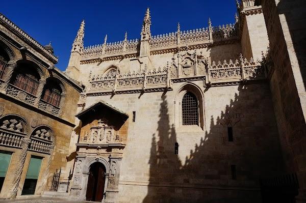 Popular tourist site Royal Chapel of Granada in Granada