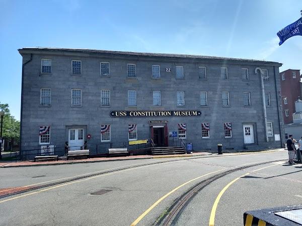 Popular tourist site USS Constitution Museum in Boston