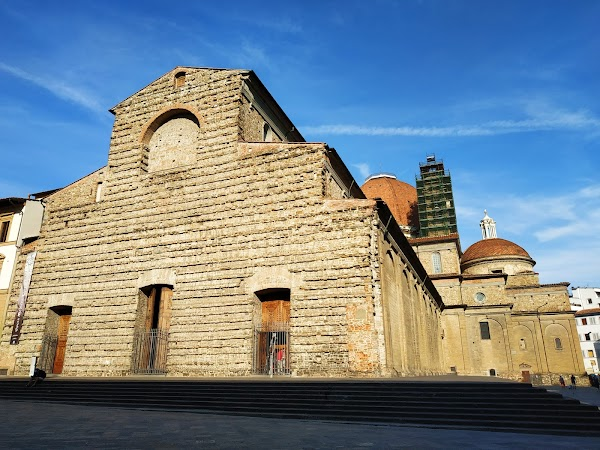 Popular tourist site Basilica di San Lorenzo in Florence