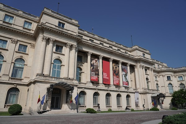Popular tourist site The National Museum of Art of Romania in Bucharest