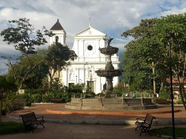 Popular tourist site Principal Park Santa Fe, Santa Fe de in Santa Fe de Antioquia