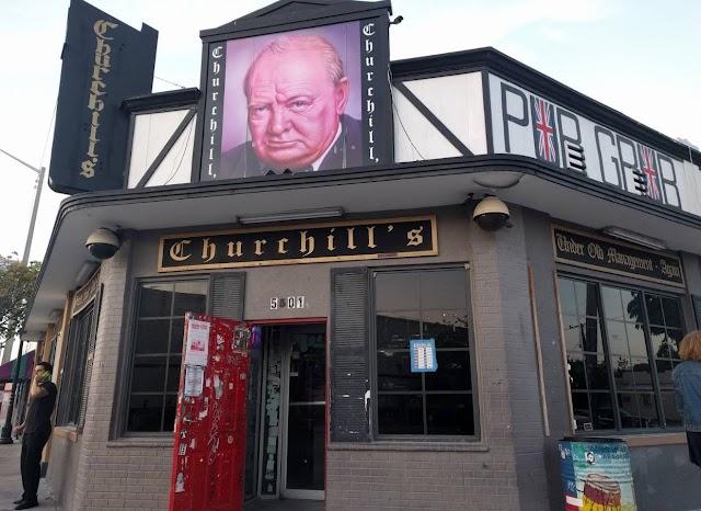 Churchill's Pub