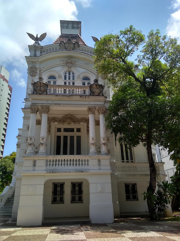 Popular tourist site Palace of Arts in Salvador