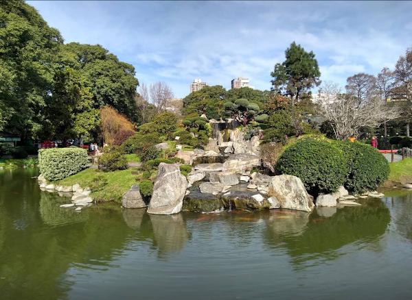 Popular tourist site Jardín Japonés in Buenos Aires