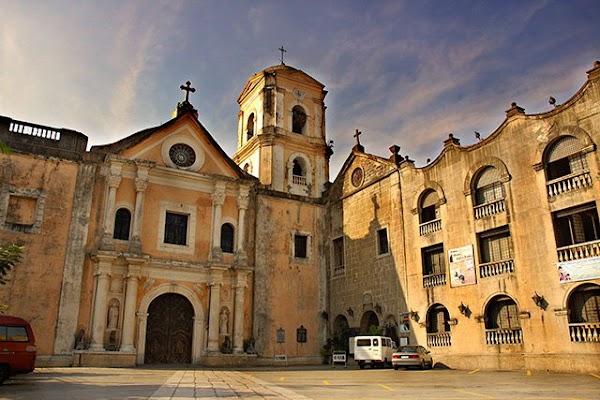 Popular tourist site San Agustin Church in Manila