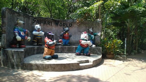 Popular tourist site Safari World in Bangkok