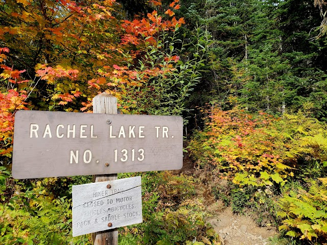 Rachel Lake Trailhead banner backdrop