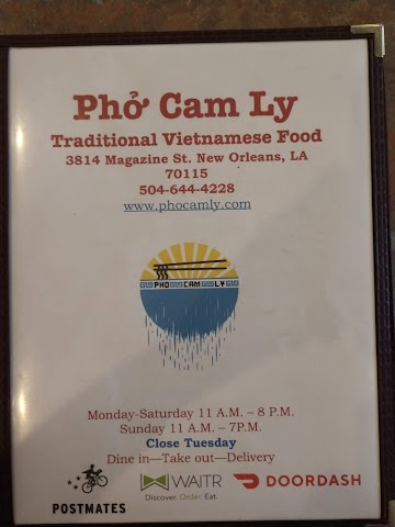 Pho Cam Ly