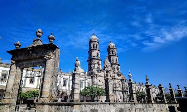 Popular tourist site Basilica of Our Lady of Zapopan in Guadalajara