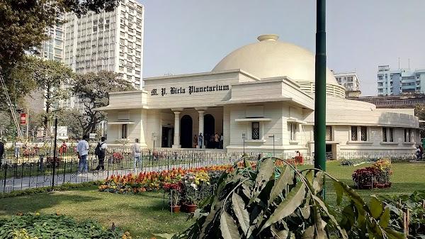 Popular tourist site M.P. Birla Planetarium in Kolkata