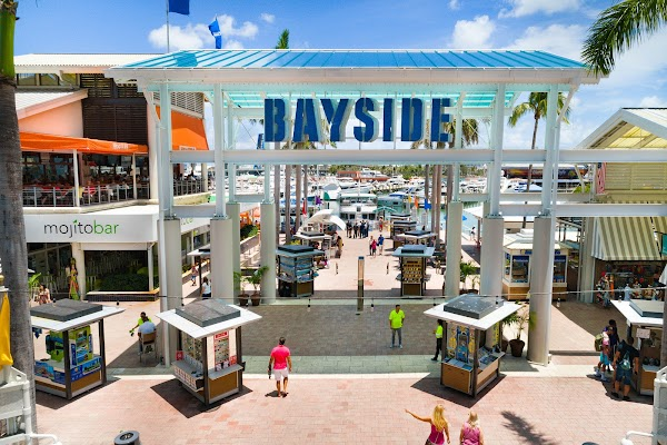 Popular tourist site Bayside Marketplace in Miami