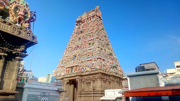 Popular tourist site Arulmigu Sri Parthasarathyswamy Temple in Chennai