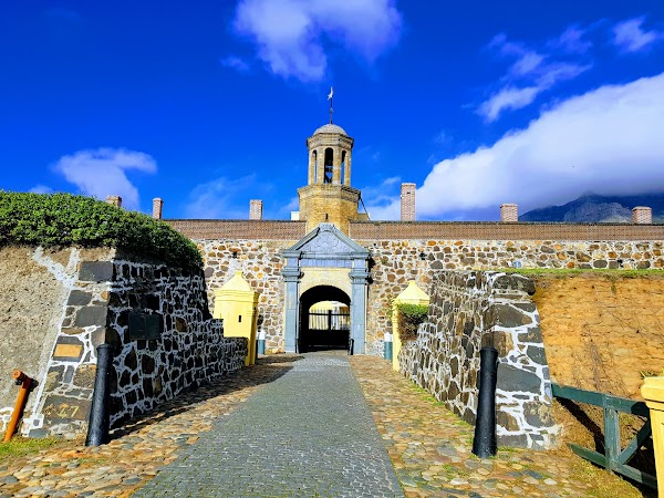 Popular tourist site Castle of Good Hope in Cape Town