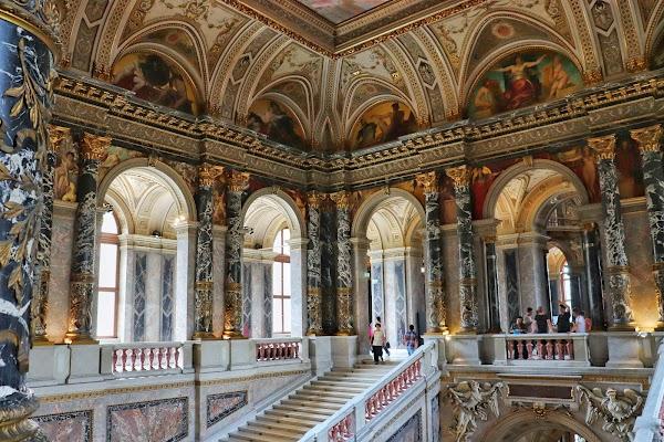 Popular tourist site Kunsthistorisches Museum Wien in Vienna