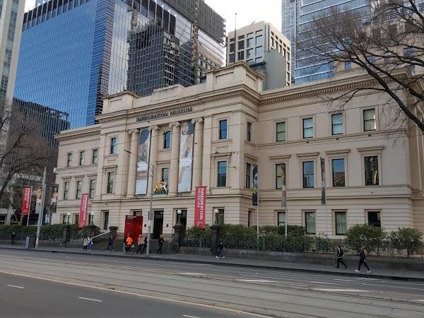 Popular tourist site Immigration Museum in Melbourne